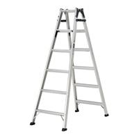 【SU】アルインコ ステップ幅広はしご兼用脚立 6段 MXB180FX