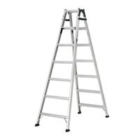 【SU】アルインコ ステップ幅広はしご兼用脚立 7段 MXB210FX