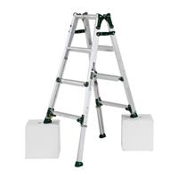 アルインコ 脚伸縮式はしご兼用脚立 4段 PRT120FX