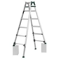 アルインコ 脚伸縮式はしご兼用脚立 6段 PRT180FX