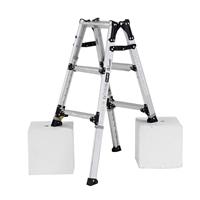 アルインコ 脚伸縮式はしご兼用脚立 3段 PRW90FX