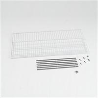 アルインコ 低温貯蔵庫用棚柱付き棚板セット 32袋用 MET1500DT【別送品】