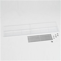 アルインコ 低温貯蔵庫用棚柱付き棚板セット 28袋用 MET1800T【別送品】