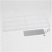 アルインコ 低温貯蔵庫用棚柱付き棚板セット 35袋・40袋用 MET1800DT【別送品】
