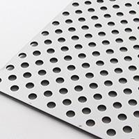 複合板パンチング 910×605 シルバー