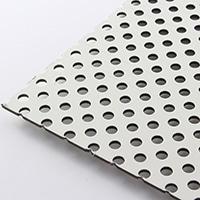 複合板パンチング 910×605 アイボりーW