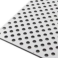 【SU】複合板パンチング 910×1820 シルバー