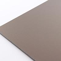 アルミ複合板 両面 910×605 ブロンズ