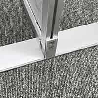 【店舗取り置き限定】アルミ製簡易パーテーション枠専用脚材