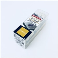 角利 細工用黒檀豆鉋 No.1 平 18mm