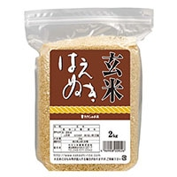 【米蔵直送】玄米 山形県産 はえぬき 2kg【別送品】