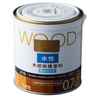 WOOD 水性木部保護塗料 0.7L オーク