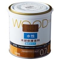 WOOD 水性木部保護塗料 0.7L ライトオーク