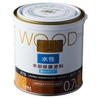 WOOD 水性木部保護塗料 0.7L パイン