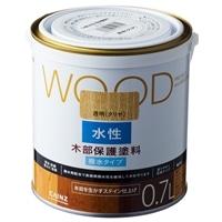 WOOD 水性木部保護塗料 0.7L 透明