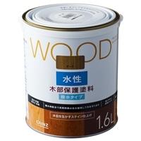 WOOD 水性木部保護塗料 1.6L オーク