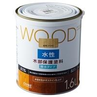WOOD 水性木部保護塗料 1.6L 透明