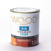WOOD 水性木部保護塗料 1.6L ピュアホワイト