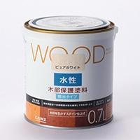 WOOD 水性木部保護塗料 0.7L ピュアホワイト