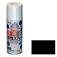 水性多用途スプレー 420ML 黒