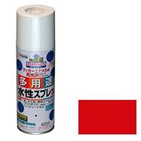 水性多用途スプレー 420ml 赤