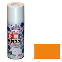 水性多用途スプレー 420ml オレンジ