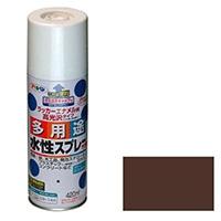 水性多用途スプレー 420ml ブラウン