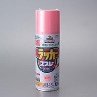 アスペン ラッカースプレー 420ml ピンク