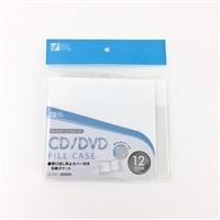 CDDVDファイルケース12枚入り 白