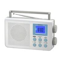 オーム電機 AudioComm ポータブルDSPラジオ AM/FM RAD-T650Z 03-0374