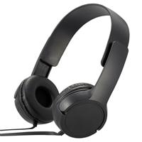 オーム電機 AudioComm ステレオヘッドホンH125 ブラック HP-H125N-K 03-2281