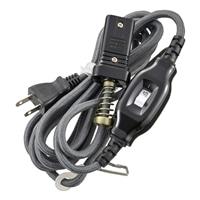 オーム電機 こたつ専用コード ストレートプラグ 中間スイッチ付 3m 04-4100