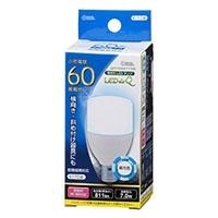 オーム LED電球T形LDT‐7D‐G‐E17