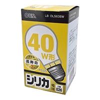 白熱電球 E26 40形相当 シリカ 長寿命 LB-DL5638W
