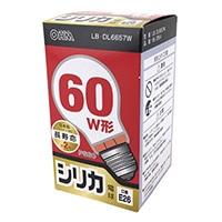 白熱電球 E26 60形相当 シリカ 長寿命 LB-DL6657W