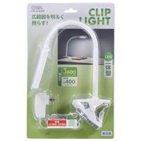 オーム電機 LEDクリップライト ホワイト LTC-LC16-WN 06-0896
