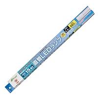 オーム電機 直管LEDランプ 15形相当 G13 昼光色 グロースタータ器具専用 片側給電仕様 LDF15SS・D/6/8 06-0914