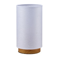 オーム電機 和風スタンド 円柱形タイプ 紙セード 電球別売 TT-WN10AW 06-1394