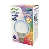 LED電球 ボール形 60形相当 E26 昼白色 LDG8N-G 7DAS20