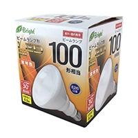 LED電球 ビームランプ形 散光形 E26 100形相当 電球色 LDR9L-W20/100W