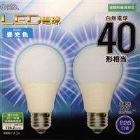 【数量限定】オーム LED電球 LDA4D−G AS24 2P