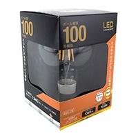 LED電球 フィラメント ボール形 E26 100形相当 LDG10L C6
