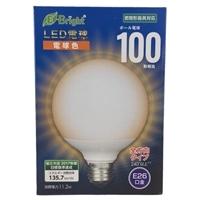 LED電球 ボール形 E26 100形相当 全方向 電球色 LDG11L-G AG23
