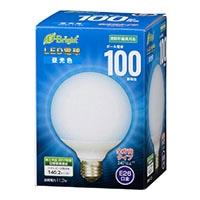 LED電球 ボール形 E26 100形相当 全方向 昼光色