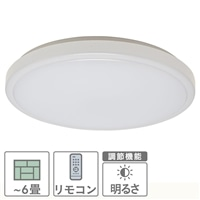 LEDシーリングライト 〜6畳 LE‐Y24D6K‐W