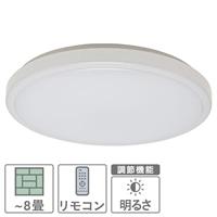 【数量限定】オーム電機 LEDシーリングライト 〜8畳用 LE-Y35D8K-W
