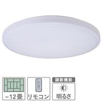 LEDシーリングライト 〜12畳用 LE‐Y50DBK‐W