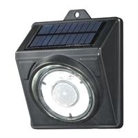 【数量限定】オーム電機 LEDソーラーライト ブラック 400lm