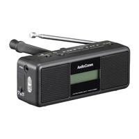【店舗限定】オーム電機 AudioComm 手回しラジオライト RAD-M799N 07-3799