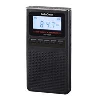 オーム電機 AudioComm 録音機能付きラジオ ブラック RAD-F830Z-K 07-8370
